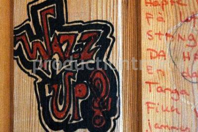 Graffiti, wazz up